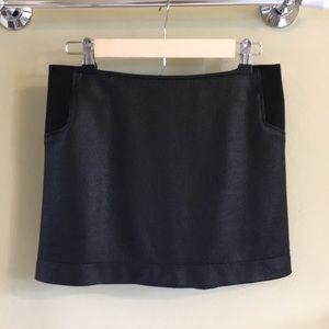 Black BCBGMaxAzria skirt
